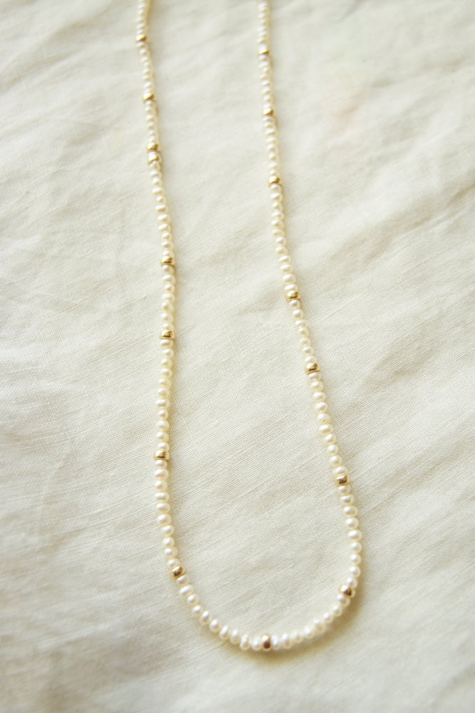 Image of Serena Fresh Water Pearl Necklace