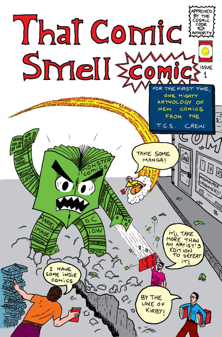 Image of THAT COMIC SMELL COMIC