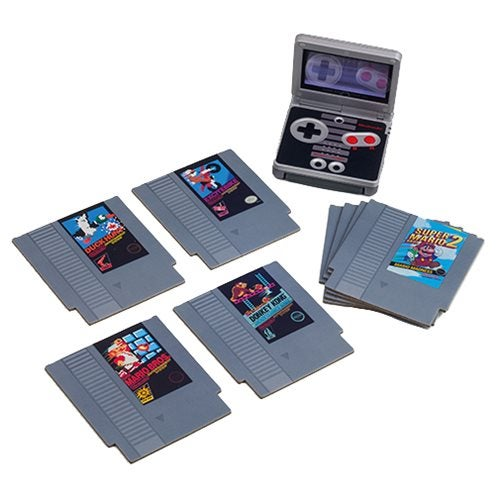 Image of Nintendo NES Cartridge Coasters