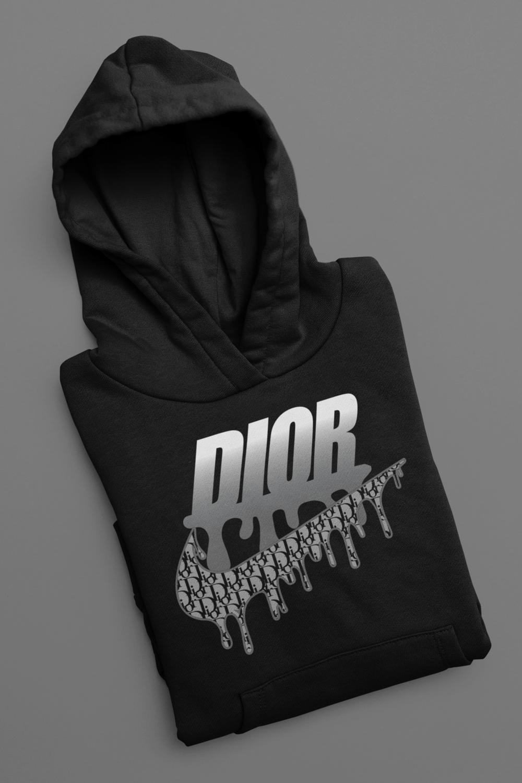 Nike x Dior Black Hoodie