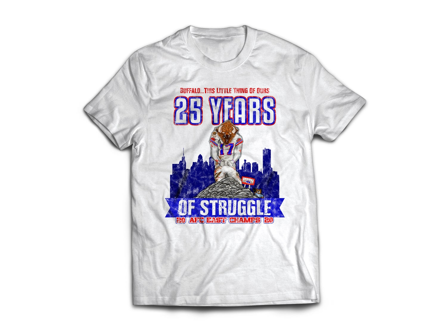 Bills Struggle Ponce tee shirt
