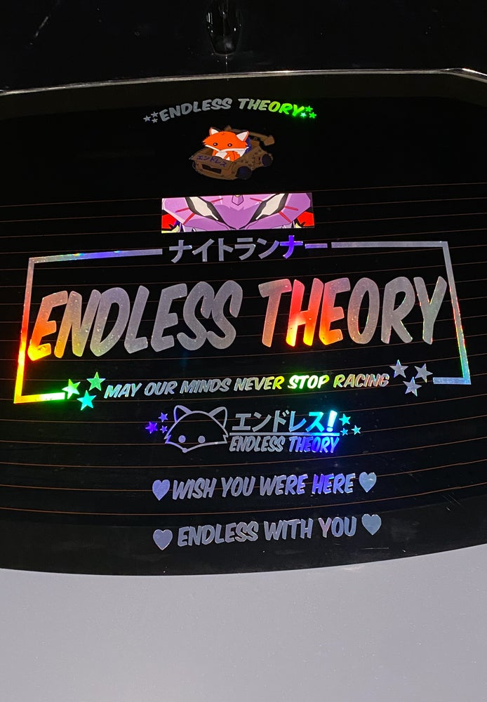 Image of Endless Theory Die-Cuts