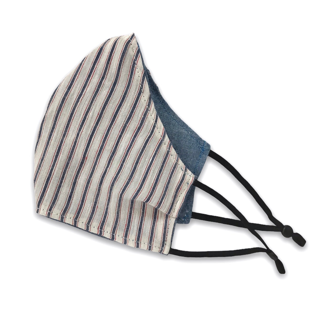 Image of FACE MASK - TICKING STRIPE