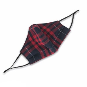 Image of FACE MASK - RED PLAID