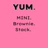 MINI Brownie Stack