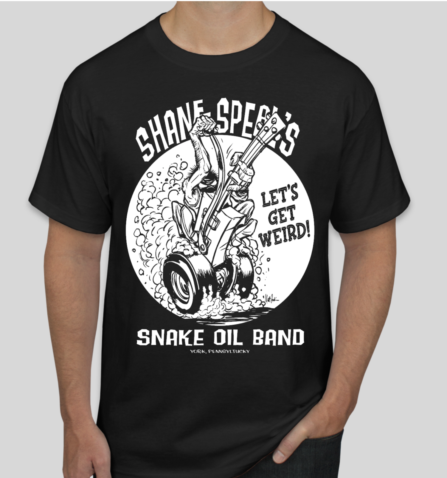 """Image of FLASH SALE - Shane Speal """"Let's Get Weird"""" Tour Shirt"""