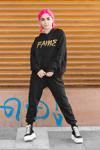 """""""Fame"""" Graffiti Style Hoodie"""