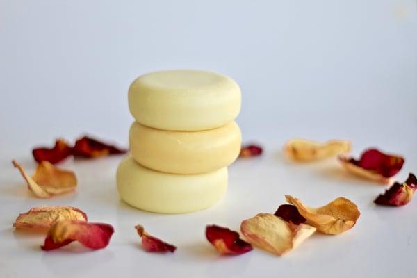 Image of Vegan Lotion Bars Jasmine and Rose