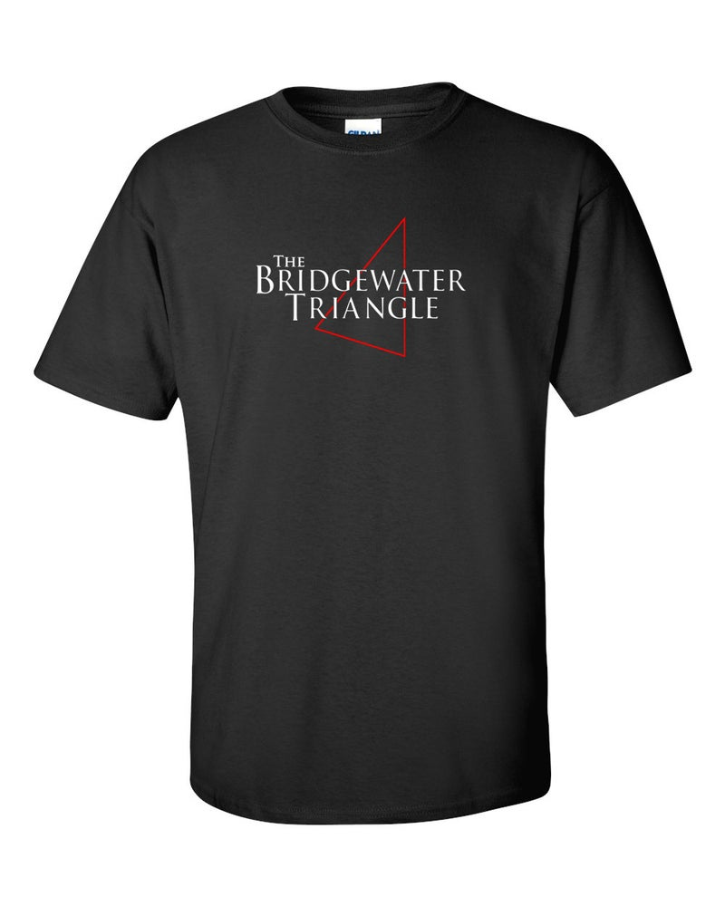 Image of BRIDGEWATER TRIANGLE BLACK T-SHIRT - TEMP OUT OF STOCK