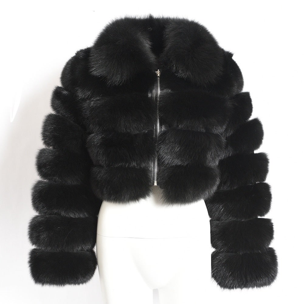 Image of SABLE FOX COAT