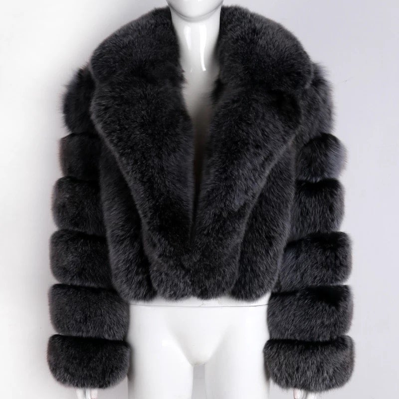 Image of RICH GIRL FUR COAT