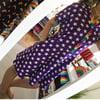 Short Sleeve Popper Front Skater Dress