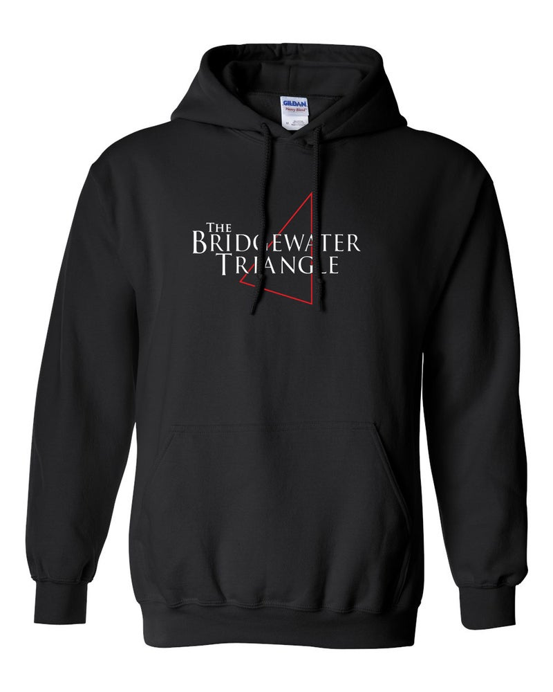 Image of BRIDGEWATER TRIANGLE BLACK HOODIE