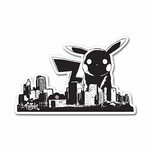 Image of Pika City Take-Over Sticker