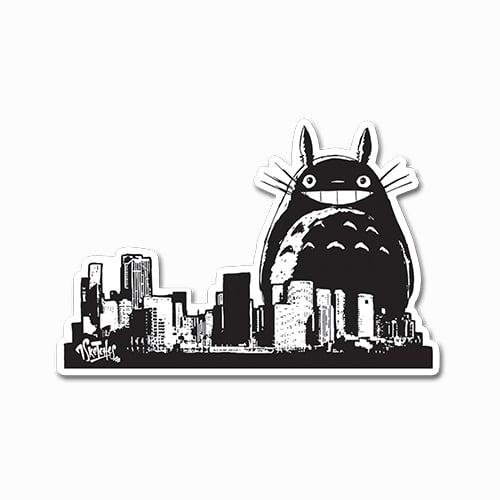 Image of Totoro City Take-Over Sticker