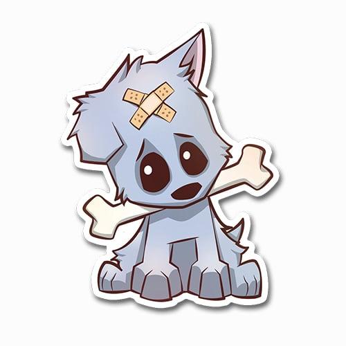 Image of Puppy Sticker