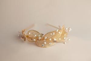 Image of Gilded Leaf Diadem