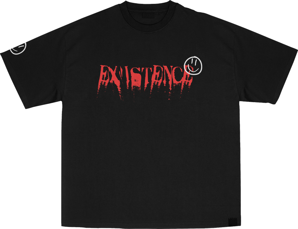 """Champion X Existence """"Smiley Reverse"""" T-Shirt"""