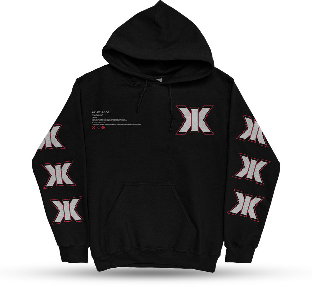 """Existence """"Triple Existence"""" Hoodie"""
