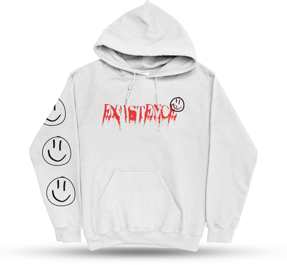 """Existence """"Smiley"""" Hoodie"""