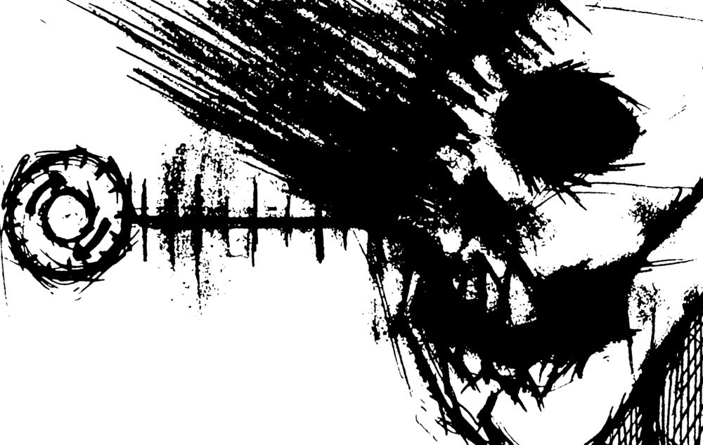 """B!055 Angel of Decay """"Radio Brain Damage"""" 7-inch"""