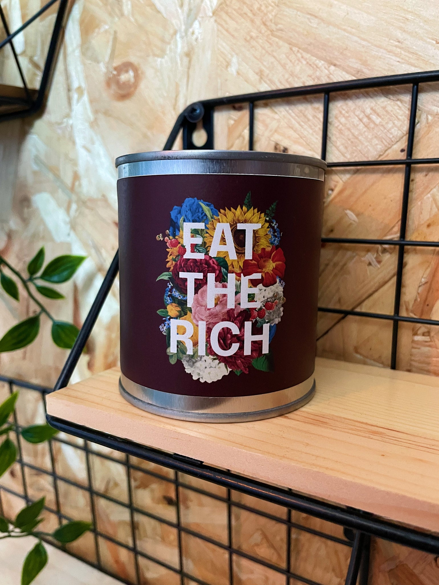 Image of 'Eat The Rich' Candle
