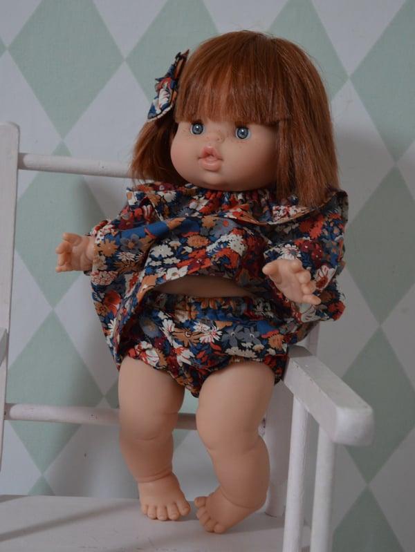 Image of robe de poupéé + bloomer liberty thorpe