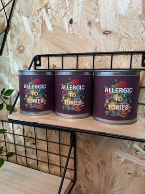 'Allergic To Tories' Candle
