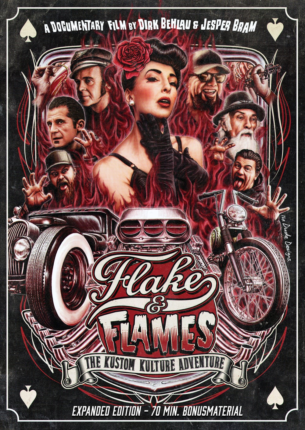 Flake & Flames - Expanded Edition (Feature Film + 72 minutes Bonusmaterial)