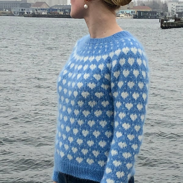 Image of DK95 - ALL LOVE SWEATER - Another Round