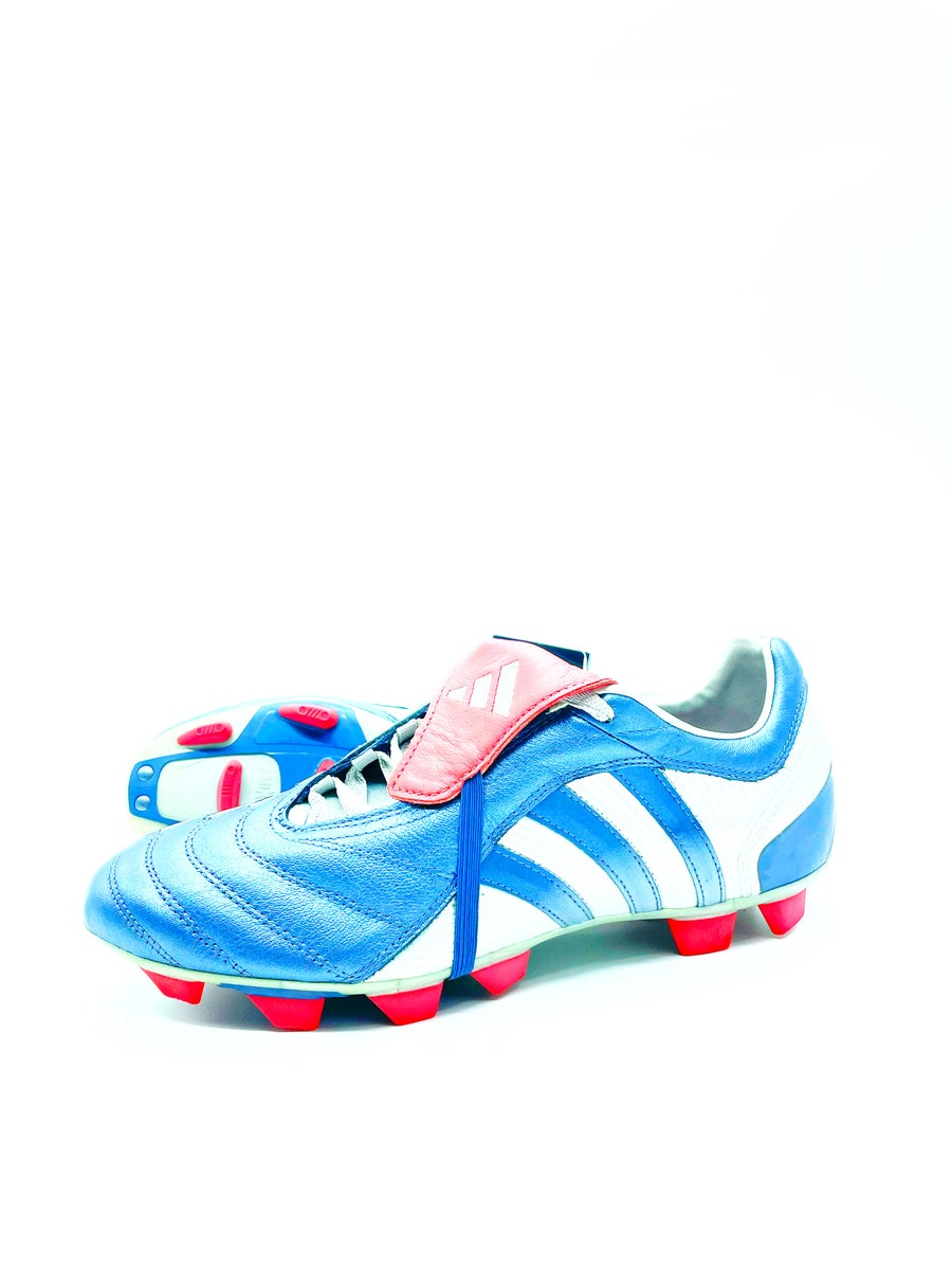 Image of Adidas Predator Pulsion Fg blue grey