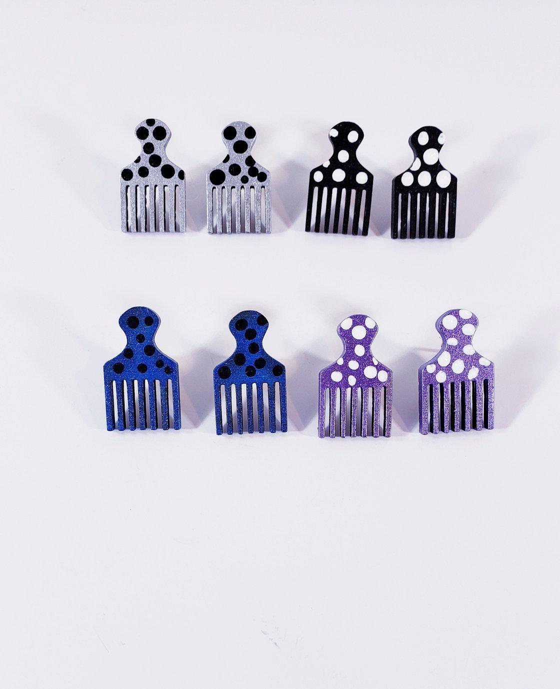 Image of Pick Stud Earring