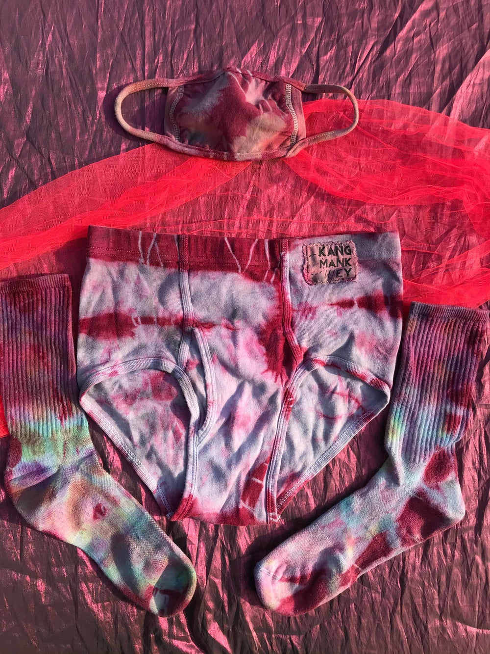 "Image of Panty Party Pack in ""Red Wine Mouth"""