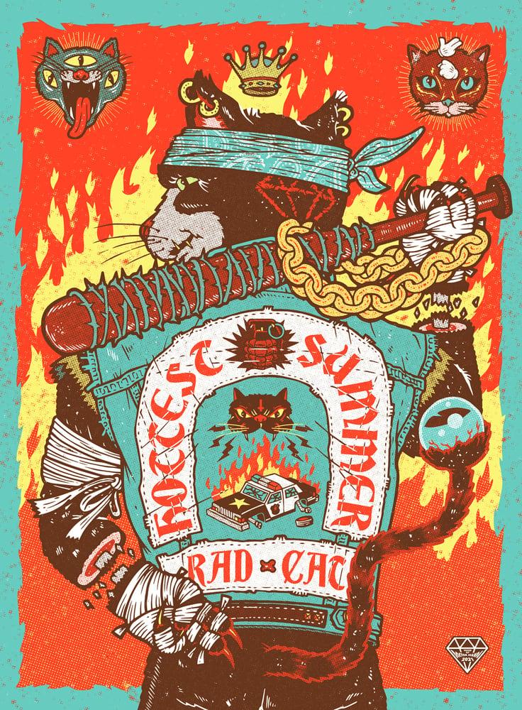 Image of Rad Cat Poster (Regular)
