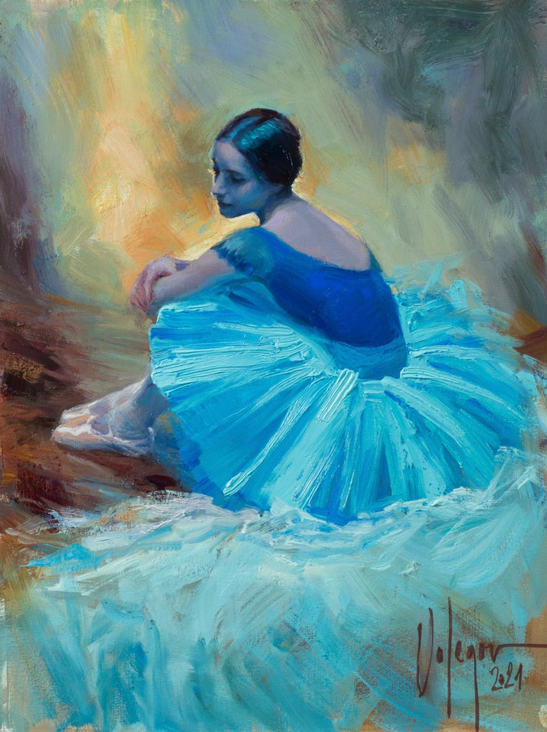 "Image of ""The Ballerina"", painting."