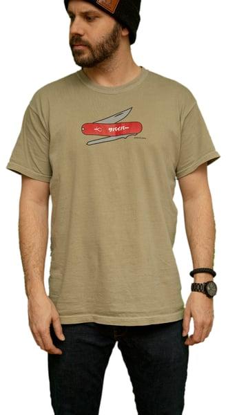 Image of Survivor Knife  Shirt