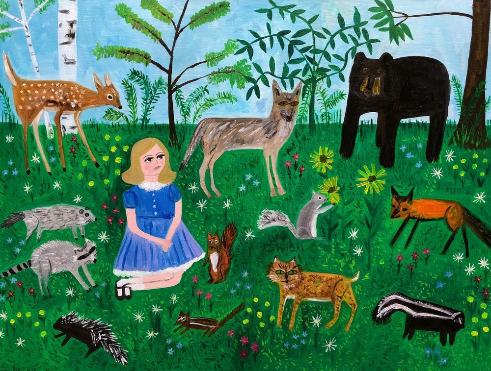 Image of Bless the beasts and the children. Limited edition print.
