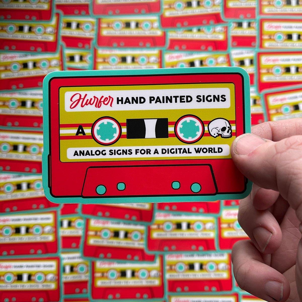 Image of Hurfer Cassette Sticker