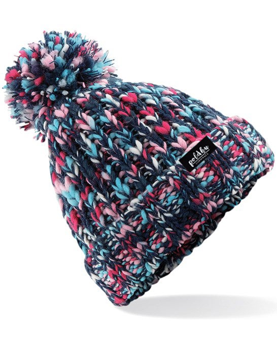 TWISTER BOBBLE HAT - CANDY.