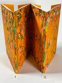 Marbled Notebook Orange (b) Canson Mi-Teintes Collection