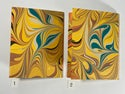 Marbled Notebook Yellow (a) Canson Mi-Teintes Collection