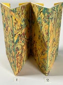Marbled Notebook Yellow (b) Canson Mi-Teintes Collection