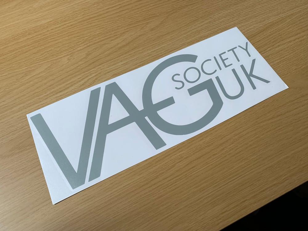 Image of VAGSocietyUK Big OG Logo Sticker