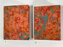 Marbled Notebook Poppy Red (a) Canson Mi-Teintes Collection