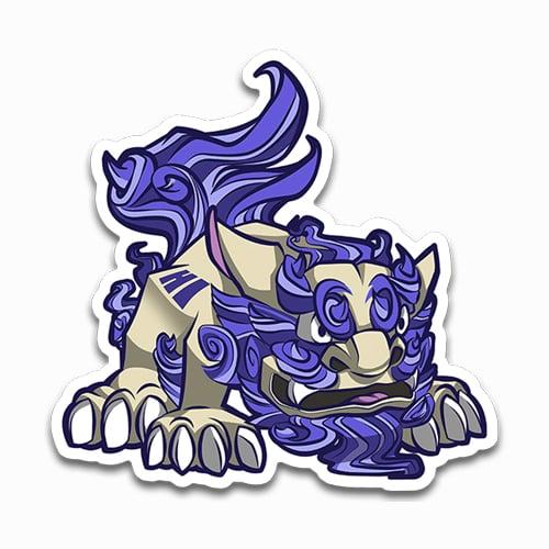 Image of Shisa [HI] Sticker