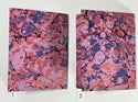 Marbled Notebook Red (a) Canson Mi-Teintes Collection