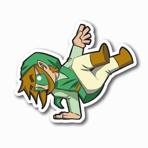 Image of Bboy Link Sticker
