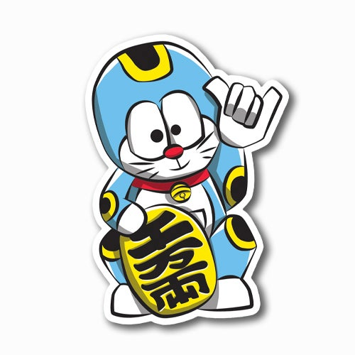 Image of Lucky Doraemon Sticker