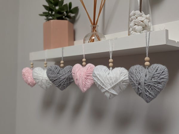 Image of Heart decorations