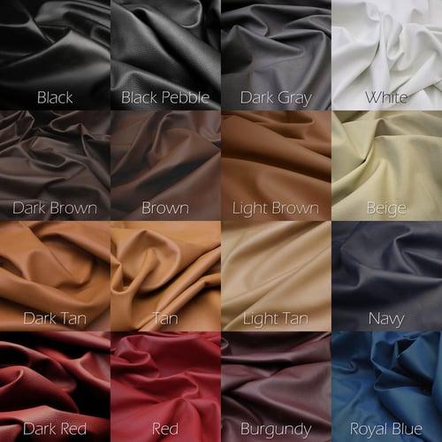 """Image of Crossbody / Messenger Bag Strap - Choose Leather Color - 50"""" Length, 1"""" Wide, #14 Tear-drop Hooks"""